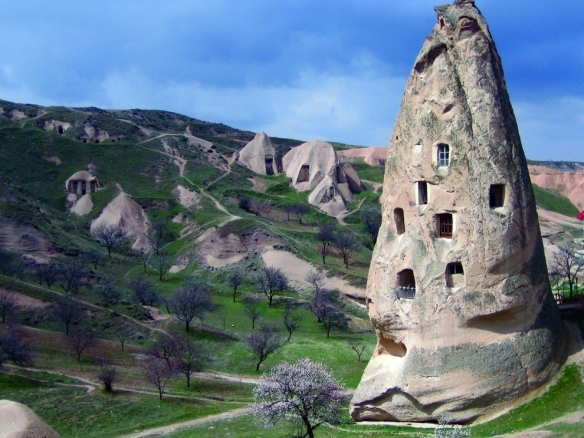 casas caverna na turquia