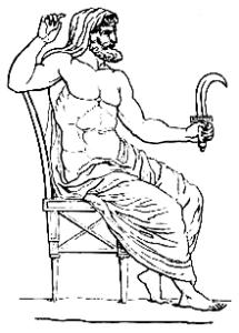DEUS ROMANO SATURNO