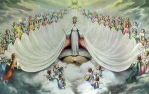 MARIA E CORO ANGELICAL