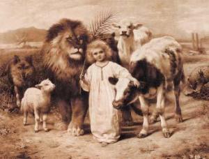 Amor pelos animais, sem necessidade de matá-los para a nossa existência