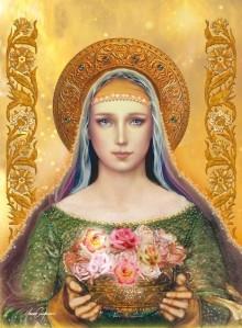 Abençoada Maria, geradora de um filho que educaria a todo um planeta...