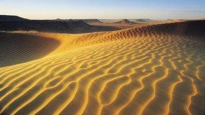 DESERTO DO SAHARA, enorme e quente, já foi mar. E pode voltar a ser, desertificando outro local...