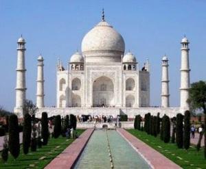 Taj Mahal: símbolo do amor