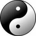 Símbolo chinês taoista: união constante das energias opostas, num resultado positivo