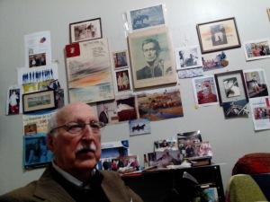 O poeta no seu lar portoalegrense