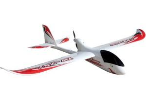 Eis um planador com motor: sem impulso não sai do chão! Tem que ser impulsionado por força externa...