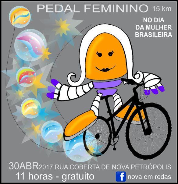 cartaz pedal feminino de propaganda 955x1027