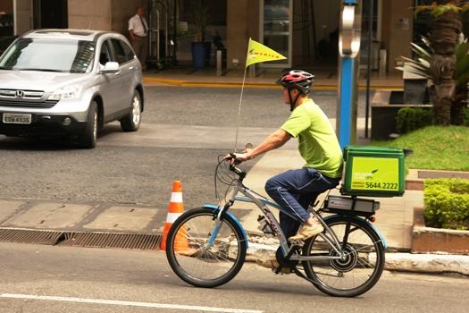 bici entregador